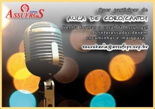AULA DE CORO E CANTO site