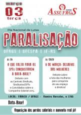 paralisação 3 de março