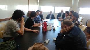 Reunião ASSUFRGS e Reitoria, 21 de setembro de 2016