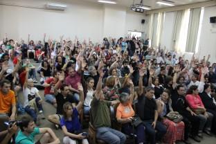 Categoria dos TAE's decidem em ampla maioria início da greve contra a PEC 241, em 08 de novembro.
