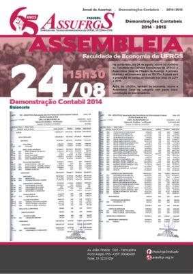 Demonstrações Contábeis 2014 e 2015