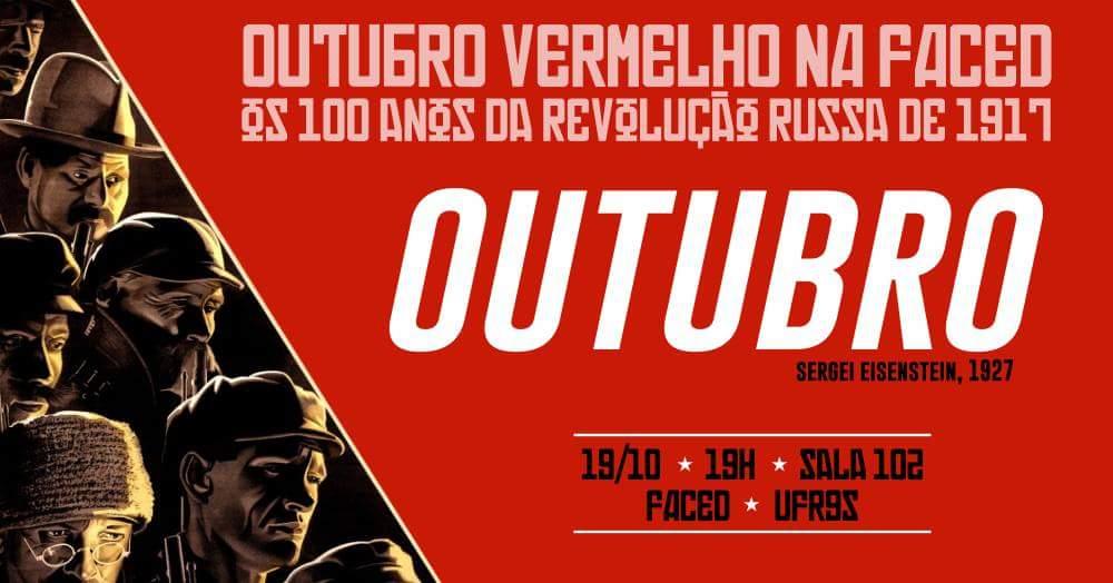 Continua nessa quinta, 19, o ciclo de cinema sobre a revolução russa